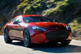 Aston Martin Rapide S von vorn