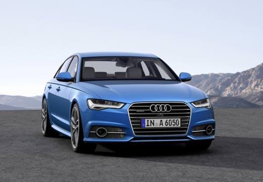 Audi A6 Front blau