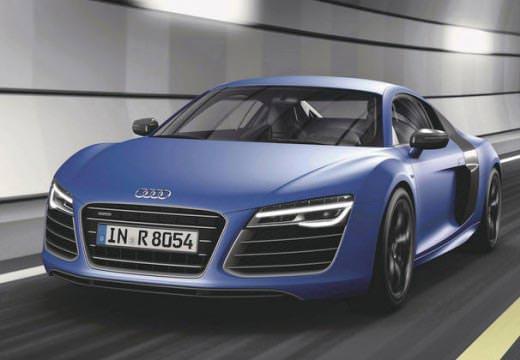 Audi R8 Front blau
