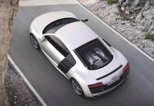 Audi R8 silber