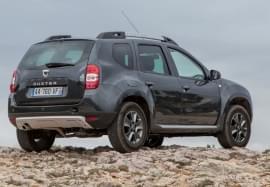 Dacia Duster von hinten