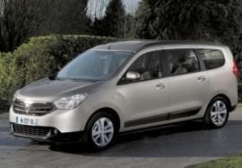 Dacia Lodgy von vorn