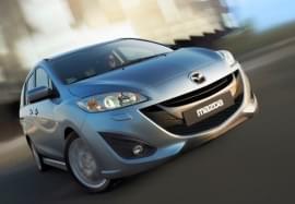 Mazda 5 Vorderansicht