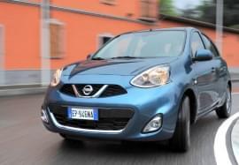 Nissan Micra von vorn