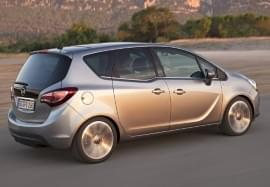 Opel Meriva in Seitenansicht