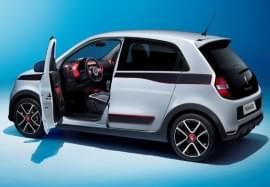 Renault Twingo mit offener Tür