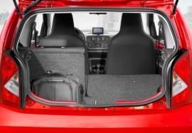 Blick in den Kofferraum des Seat Mii