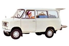 Suzuki Carry Van Seitenansicht