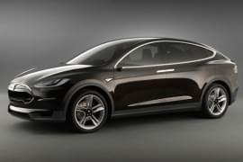 Tesla Model X von vorn