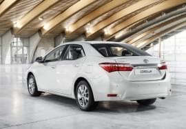 Toyota Corolla Heckansicht