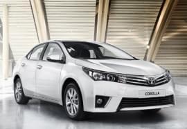 Toyota Corolla Vorderansicht