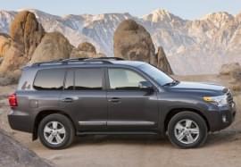 Toyota Land Cruiser Seitenansicht