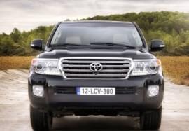 Toyota Land Cruiser Vorderansicht