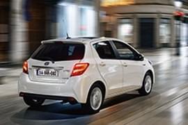 Toyota Yaris Heckansicht