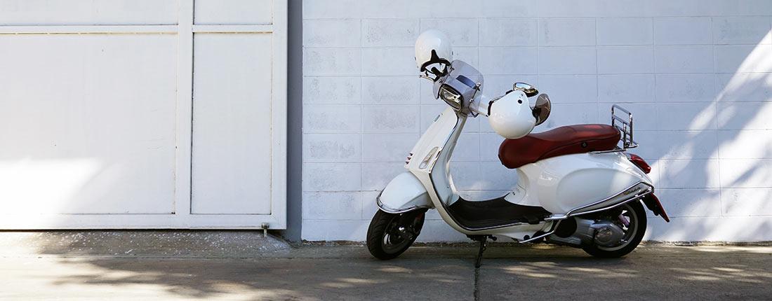 Motorroller 250 ccm