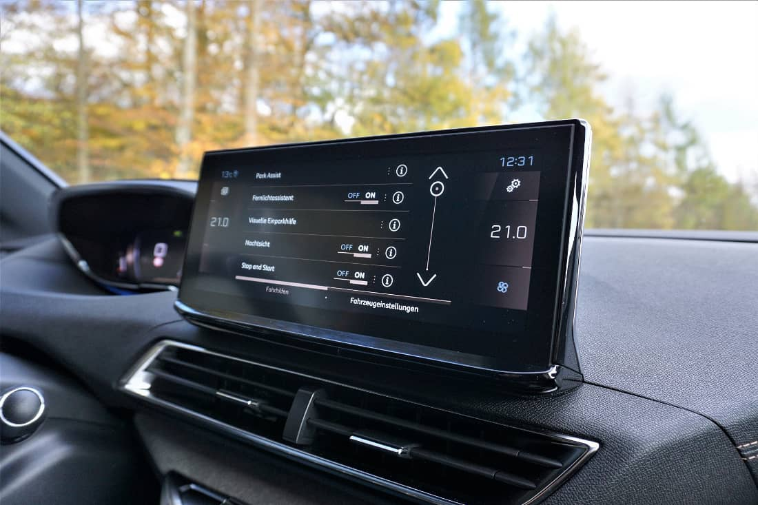 Peugeot 3008 5008 Facelift 2020 Int Display Night Vision