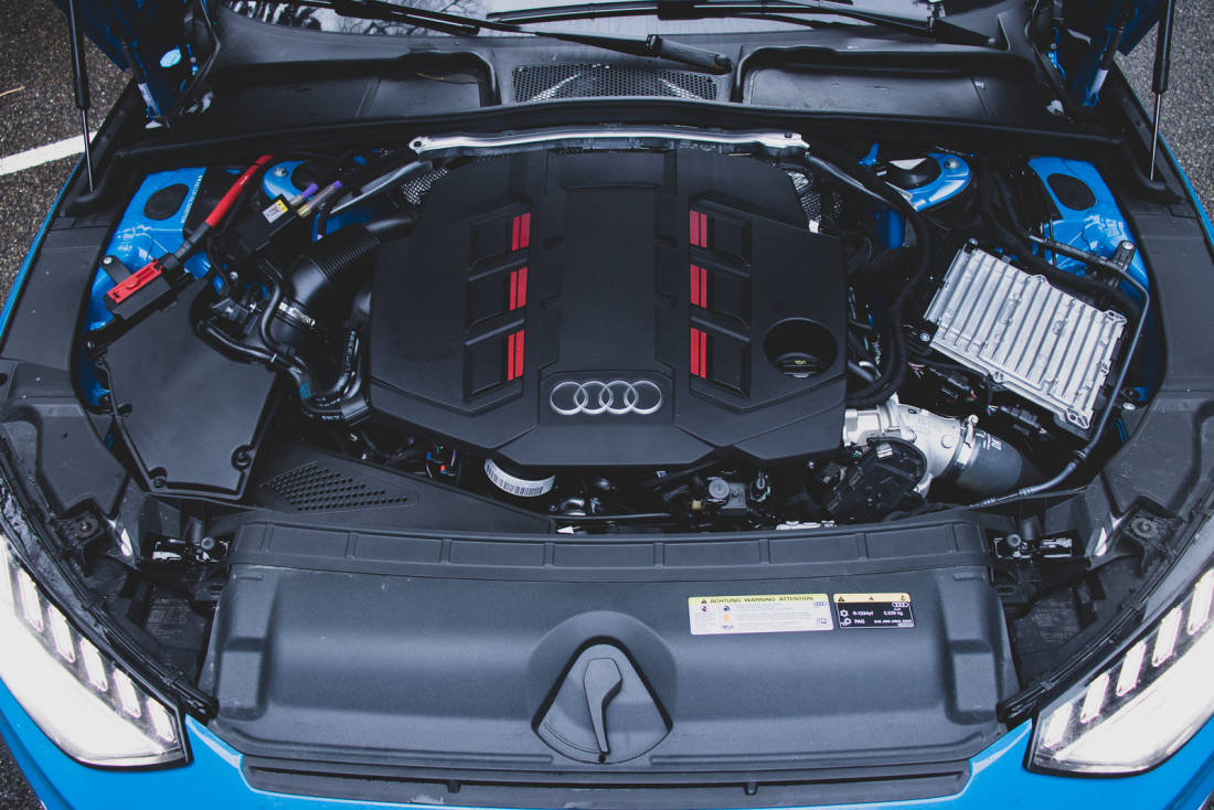 Audi S4 TDI Engine 1